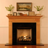 New England Classic - Fireplace Mantels &  Shelves