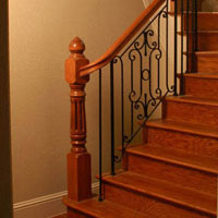 Custom Iron - Stair Parts