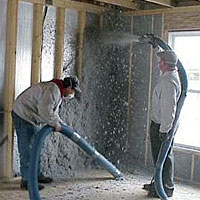 Nu-Wool - Spray-in-Place Cellulose Insulation